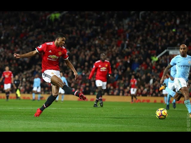 Gol de Rashford - Manchester United 1 x 2 Manchester City - Narração de Fausto Favara