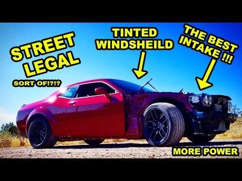 Rebuilding a Wrecked 2018 Widebody Challenger Hellcat Part 16
