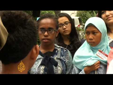 Indonesian teens taught religious tolerance