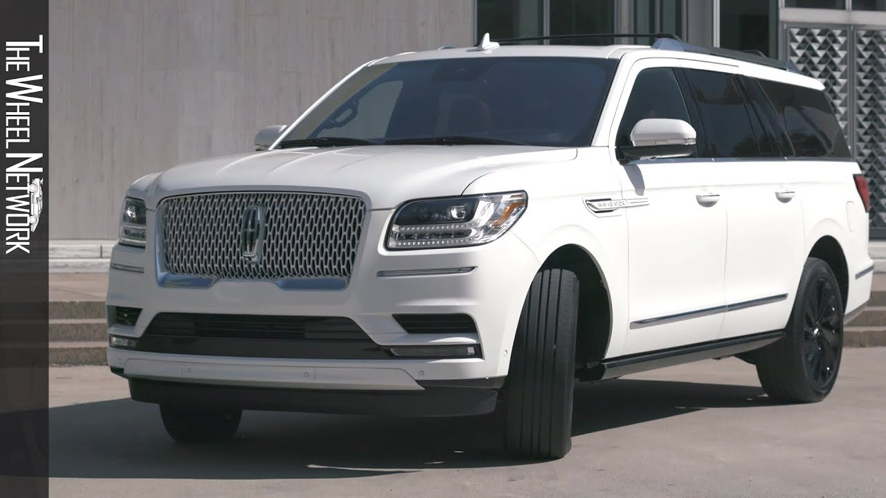 2020 Lincoln Navigator With Monochromatic Package Pristine White Exterior Interior