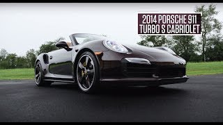 2014 Porsche 911 Turbo S Cabriolet // Lot R472 // From the Michael Fux Collection