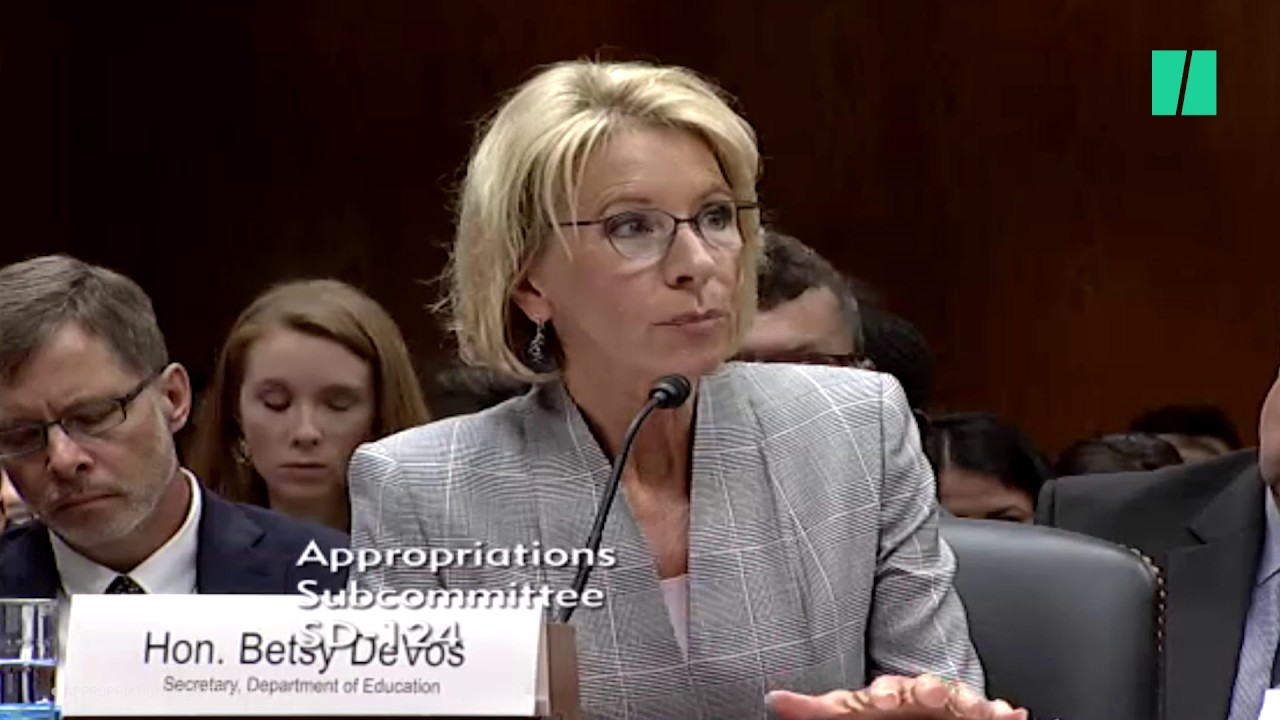 Betsy DeVos Asked to Justify Proposed $9 Billion Cut to Education Budget