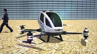 Dubai set to introduce flying drone taxis