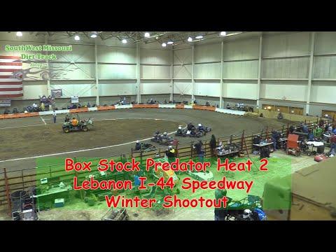 Box Stock Predator Heat 2  I 44 Speedway Winter Shootout 1 20 2018