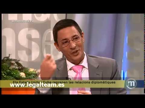 Director General de Legalteam, Guillermo Morales Catá, participa en tertulia de la Televisión catala