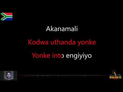 Sun EL Musician Ft Samthing Soweto Akanamali lyric video