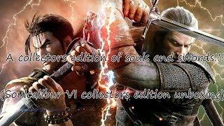 A collectors edition of souls and swords (Soulcalibur VI collectors edition unboxing)