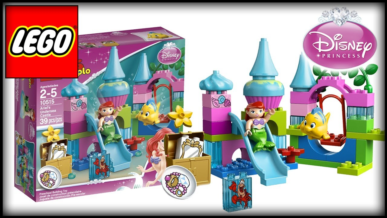 Lego Toys For Girls : Lego disney princess ariel undersea castle unboxing