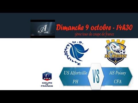 Coupe de France 5ème tour US Alfortville (PH) - AS Poissy(CFA)