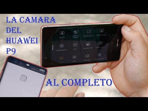 La camara del Huawei P9 al completo | Editor fotografico incluido