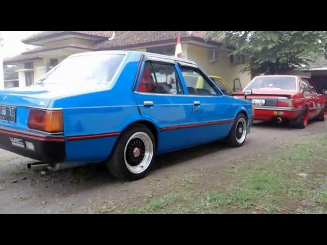 Lancer SL Warna Warni  mobil retro klasik