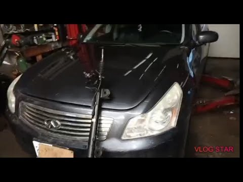 2008 Infiniti G35 steering rack pinion replacement DIY