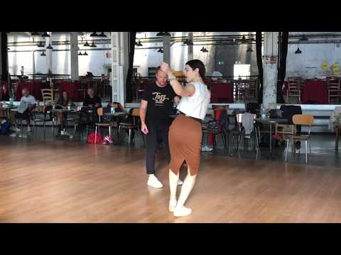 How to do Lindy Hop Switches + 4 Switch Styles for Followers with Sharon Davis