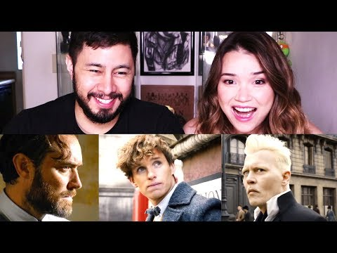 FANTASTIC BEASTS: THE CRIMES OF GRINDELWALD | Trailer Reaction!