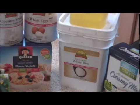 Emergency Food Storage -Affordable Solution - vid#11