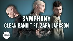 Clean Bandit - Symphony ft. Zara Larsson (Official Karaoke Instrumental)   SongJam