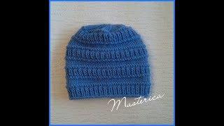 Вязание шапочки для мальчика.