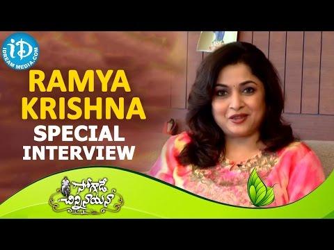 Ramya Krishna Interview || Soggade Chinni Nayana Movie || Nagarjuna | Lavanya Tripathi