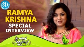 ramya-krishna-interview-soggade-chinni-nayana-movie-nagarjuna-lavanya-tripathi