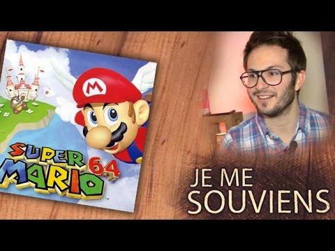 Julien se souvient de l'arrivée célesto-sismique de Super Mario 64 sur N64