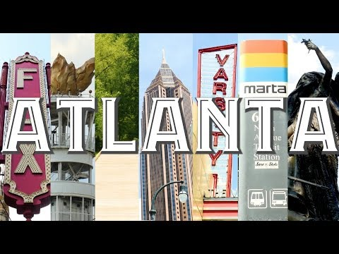 WOW Air Travel Guide Application - Atlanta