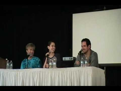 sac anime 2010 qampa with vic mignogna laura bailey and