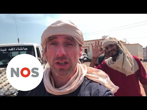 JEMEN: Correspondent reist naar het front bij Mokka