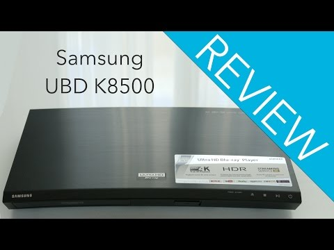 Samsung UBD K8500 Bluray Player