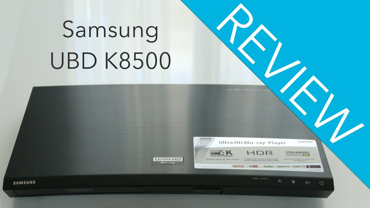 samsung ubd k8500 blu ray player review youtube. Black Bedroom Furniture Sets. Home Design Ideas