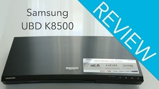 Samsung UBD K8500 Blu-ray Player Review