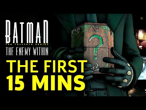 First 15 Minutes of Batman: The Enemy Within - Episode 1