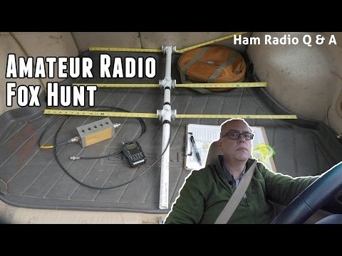 Amateur Radio Fox Hunt (ARDF) - Ham Radio Q&A