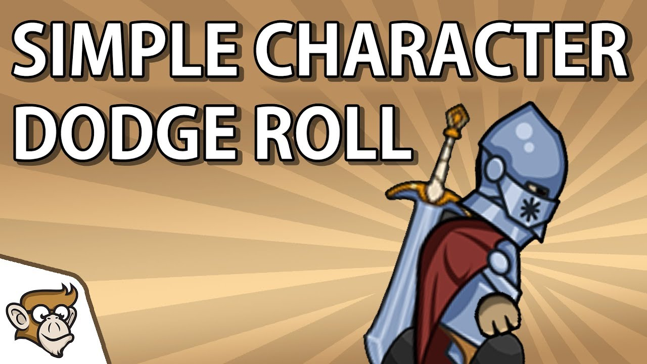 Code Monkey - How to Make Simple Character Dodge Roll
