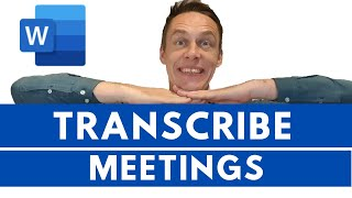 How to Transcribe a Meeting into a Document