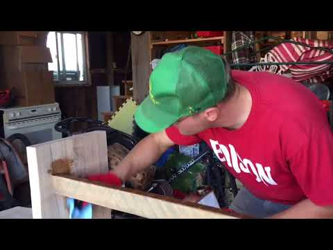 The Crafting of a Bench