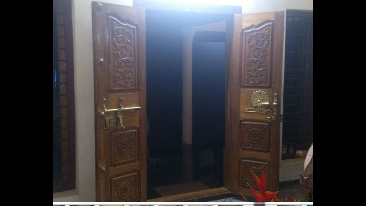 Kerala House Front Door Design For Home   YouTube. Home Front Door Designs. Home Design Ideas