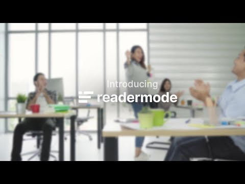 Reader Mode - Distraction-free reader with supports for dyslexics