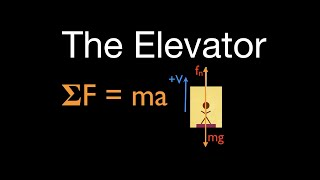 Newton's 2nd Law (6a oḟ 21) The Normal Force, The Elevator