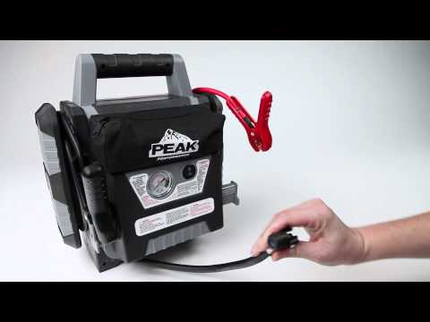 Peak Performance 900 Peak Amp Jump Start And Power Station With Inflator Video - Pep Boys