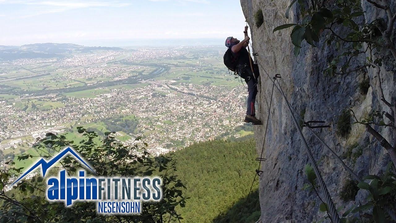 Klettersteig Ferrata : Kapf klettersteig via c d ferrata