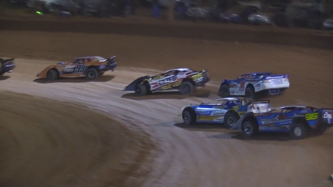 Super Sedans National Title A Main Battle Albany Speedway