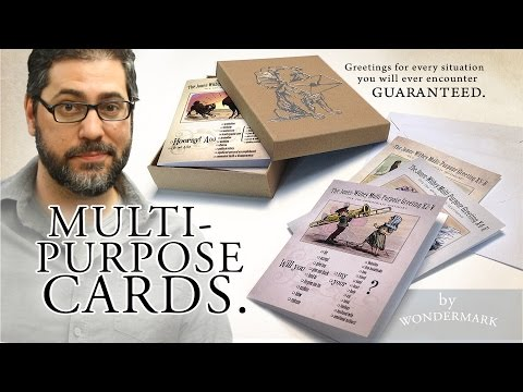 Wondermark's Multi-Purpose, All-Occasion Greeting Cards