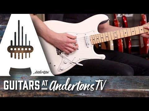 Fender Ed O'Brien Stratocaster Maple Neck Olympic White