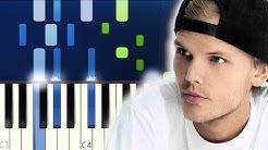 Avicii - SOS ft Aloe Blacc (Piano Tutorial)