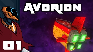 Let's Play Avorion - PC Gameplay Part 1 - Intergalactic Junkminer