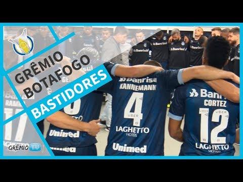 [BASTIDORES] Grêmio 4x0 Botafogo (Brasileirão 2018) l GrêmioTV