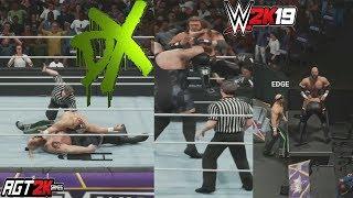 WWE 2K19 ONLINE - Rated RKO vs. D-Generation X vs. Jeri-Show (Triple Threat Elimination Tag Match)