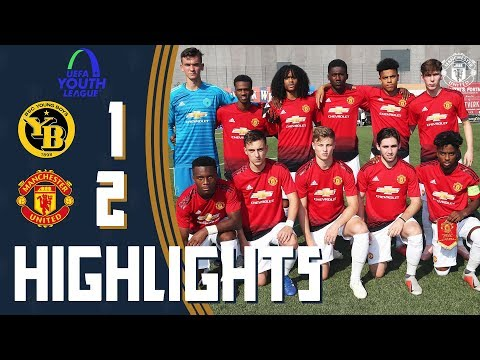 The Academy | UEFA Youth League Highlights | Manchester United 2-1 BSC Young Boys