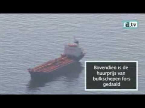 Shipping & Freight collapse - Cargo boats and oil tankers sitting idle and BDI