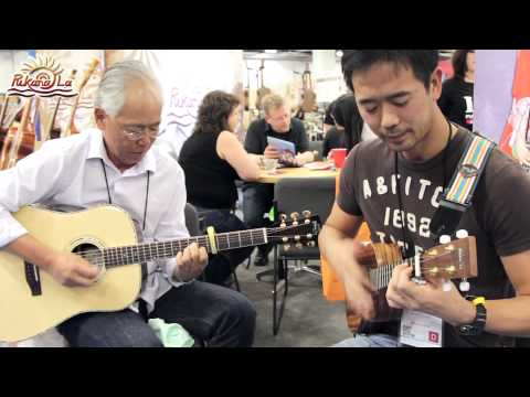 Where is the love- Bruce, PukanaLa Ukulele at NAMM Show 2014